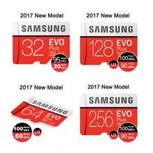 Samsung Micro Sd Card Memory Card 32gb 64gb128gb 256g EVO Plus Class 10 TF Card C10 Memoria microSDHC/SDXC UHS-I U1 U3 Microsd