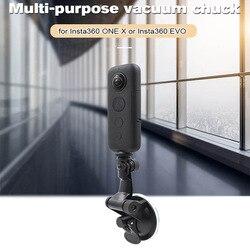 Car Holder Mount for insta360 one X evo Car Glass Sucker Holder Tripod Accessories 360 Video Camera Accessories Kits