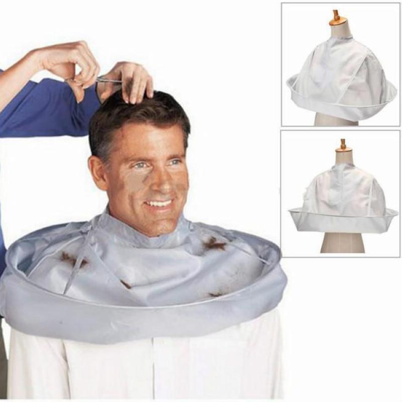 Ny ankomst Foldable Hair Cutting Cloak Paraply Barber Cloth Cape Til Salon Frisør Hjem Capes