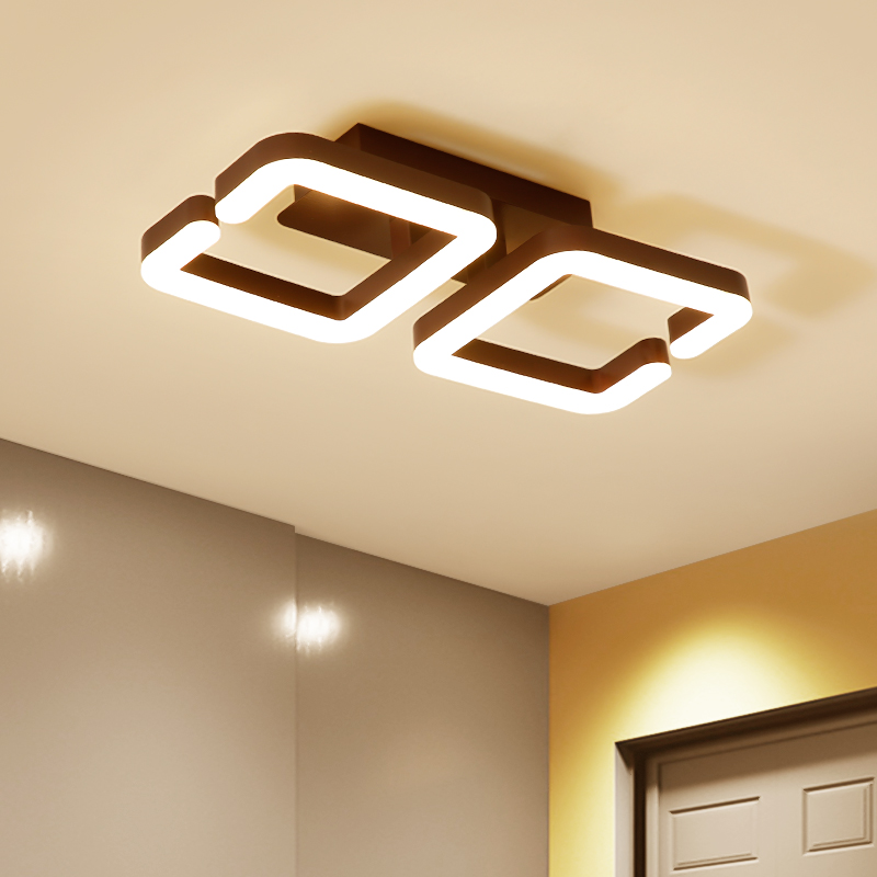 Surface Mounted Modern Led Ceiling Lights For Bedroom Aisle balcony luminaria led Indoor Home Dec Ceiling Lamp lampara techo декор ceradim surface dec puzzle 2 25x45