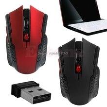 2 4GHz 2400DPI Wireless Gaming Mouse Mice USB Receiver For PC Laptop Desktop HOT Z17 Drop