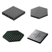 New Coaster Mold Concrete Cement Wall Brick Silicone Mould D