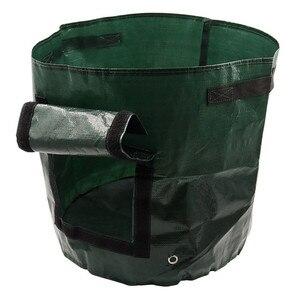 Image 3 - Roślina warzywna powiększająca torba DIY sadzarka do ziemniaków PE tkanina pomidorowa sadzenie torba pojemnik zagęścić doniczka ogrodowa narzędzia ogrodowe