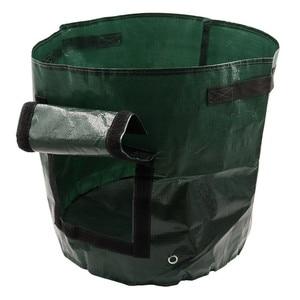 Image 3 - Vegetable Plant Grow Bag DIY Potato Grow Planter PE Cloth Tomato Planting Container Bag Thicken Garden Pot Garden Supplies