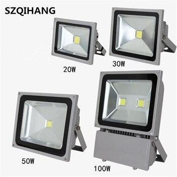 LED flood light 20W 30W 50W 70W 100W 150W AC85-265V waterproof IP68 Floodlight Spotlight Outdoor Lighting