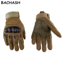 BACHASH Army Military Tactical Gloves Paintball Airsoft Shoo