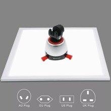 1200LM LED สตูดิโอถ่ายภาพเงาด้านล่าง Light Shadow ฟรีโคมไฟสำหรับถ่ายภาพเต็นท์กล่อง & No Polar dimming Light