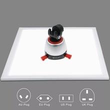 1200lm led 스튜디오 사진 그림자없는 하단 빛 그림자 무료 램프 패널 사진 촬영 텐트 상자 & 아니 폴라 디밍 빛