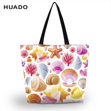 Eco Friendly Shopping Bags Waterproof Travel Reusable Handbag Women Shoulder Cloth Pouch Foldable Casual Tote Feminina