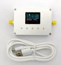LMX2595 10 MHZ 19 GHZ Fonte gerador de Sinal RF Módulo RF Fonte de Varredura Fase Locked Loop digital display OLED