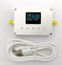 LMX2595 10 MHZ 19 GHZ generator sygnału RF moduł RF źródło Sweep źródło fazy zablokowana pętli cyfrowy wyświetlacz OLED