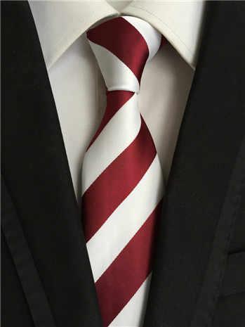 SCST Marka Cravate 2017 Yeni erkek Kravat Kırmızı Altın Çizgili Baskı Ince Erkek Düğün Kravat ipek kravatlar Erkekler Için Kravat gravata A039