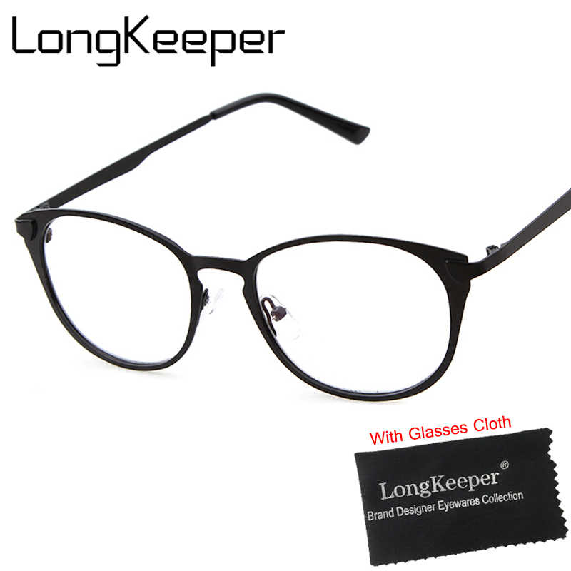 bedabdd33c6 2017 Sexy Cat Eye Style Women Glasses Frame Brand Designer Optical Frames  Clear Lens Metal Eyewares
