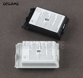 OCGAME 300pcs/lot Black White AA Battery Shell back Cover Holder Case Parts for xbox360 Xbox 360 Wireless Controller - DISCOUNT ITEM  10% OFF All Category