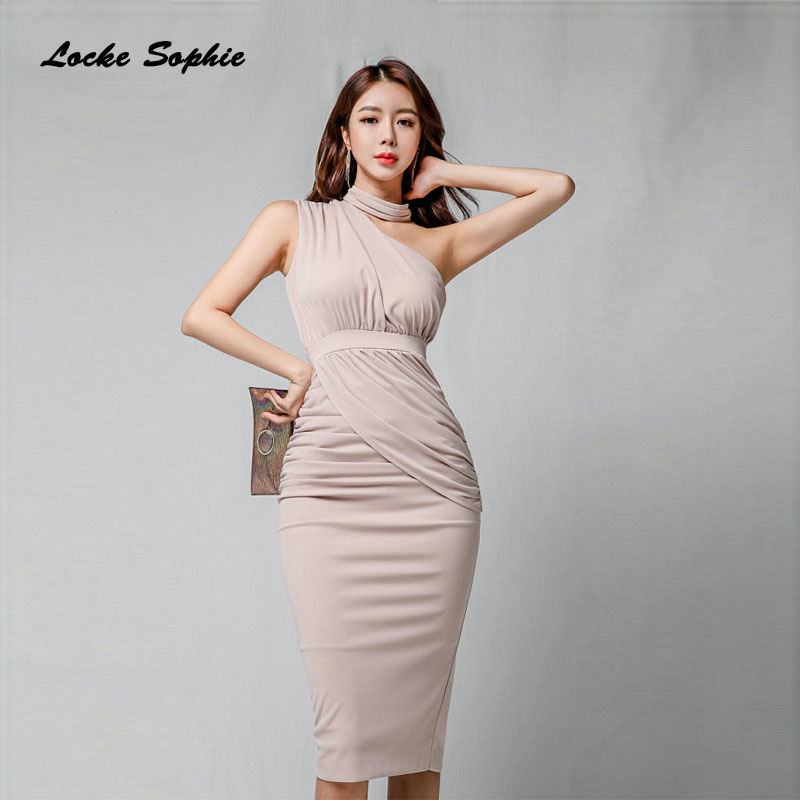 High waist Ladies Plus size party dresses 2019 Autumn cotton blend Splicing irregular Slim fit Dress women 39 s Skinny Sexy Dress in Dresses from Women 39 s Clothing