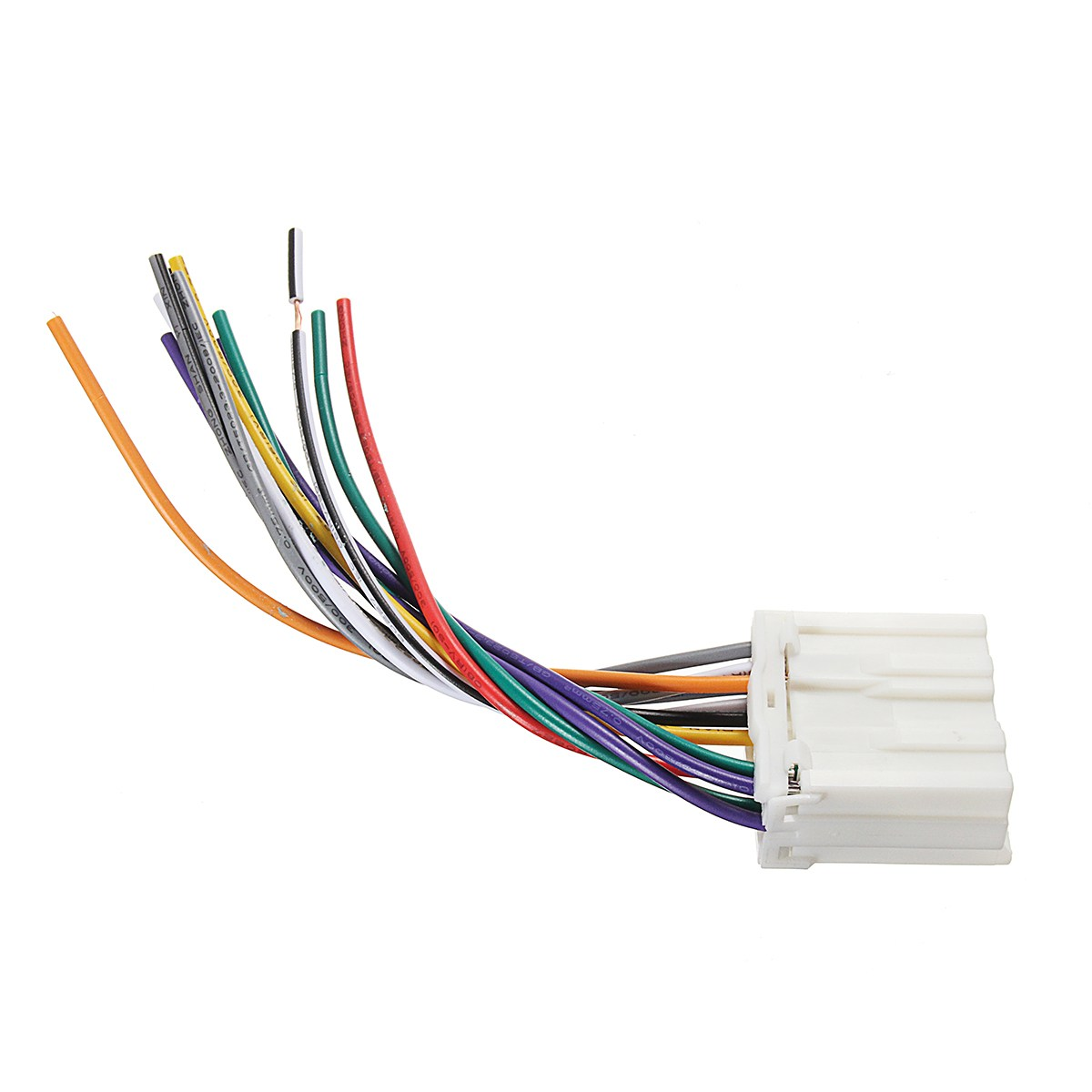 KROAK Car Stereo Radio CD Player Wiring Harness Wire Aftermarket For Mitsubishi/DWH612 wire