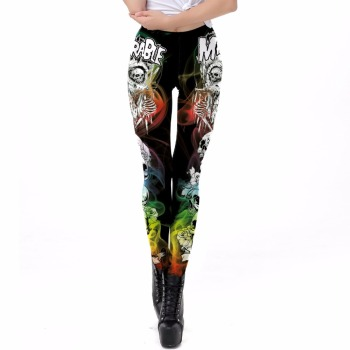 Miserable Skull Leggings