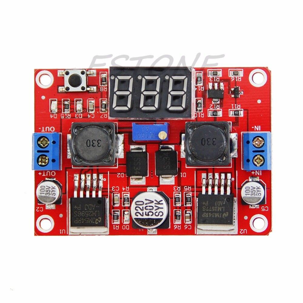 OOTDTY Digital Display DC-DC Step Up Step Down Boost Board Buck Converter Power Module