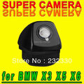 Para philips bmw x5 e53 e70 e71 e72 x6 x3 e83 NTSC de Estacionamiento de Visión Trasera Cámara Del revés Del Coche para GPS