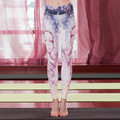 12 constellations Sagittarius 3D Printing Fashion High quality quick dry  Women pants Leggings Fitness pants Not fade deformed
