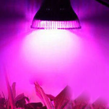 2019 Newest Full Spectrum E27 18W 18 Leds LED Grow Light Bulb Lamp for Veg Flower Indoor Hydroponic Plant DIY Hydroponics(China)