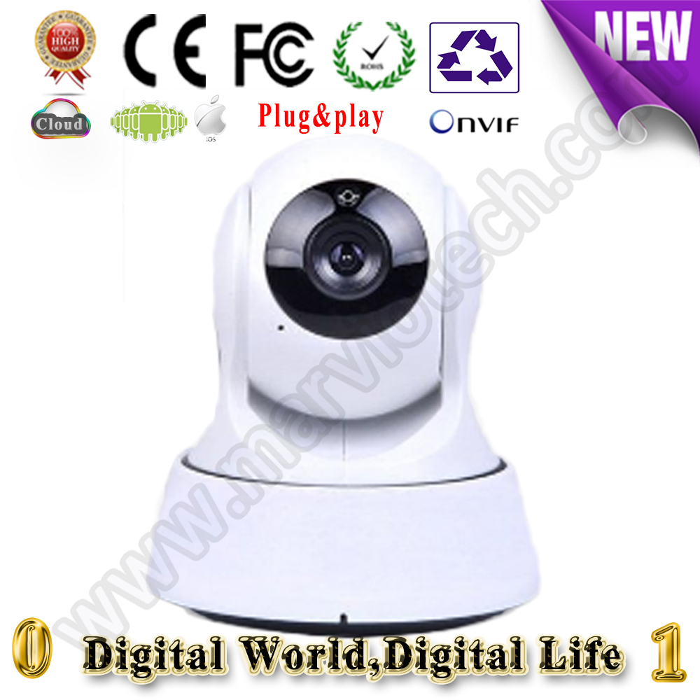 security camera 64GB support CCTV mini Camera 720P wi-fi onvif Wireless IP Camera wifi hd 1MP Pan Tilt smart audio connect audio wireless explosion proof 720p 1 0mp dome ip camera support p2p onvif hpone view cctv security camera free shipping