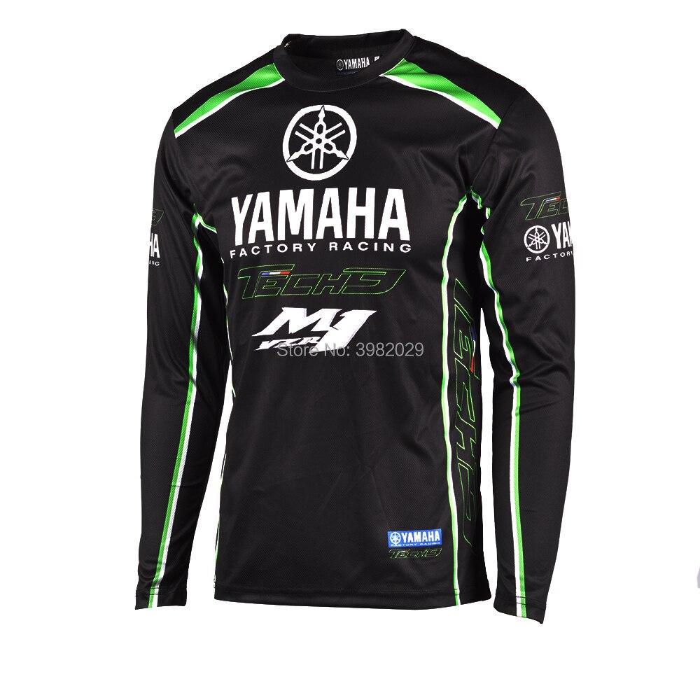 7511baf121a 2018 New Racing Clothes for Yamaha Black Long Sleeve Jersey Moto GP ...