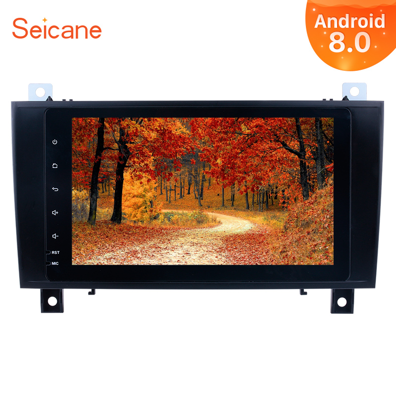 Seicane 8 Android 9 0 2Din HD GPS Car Stereo For 2000 2011 Mercedes SLK Class