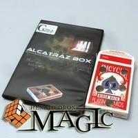 Alcatraz 상자 특수 의해 Mickael Chatelain/근접 거리 전문 카드 마술 트릭 제품/무료 배송