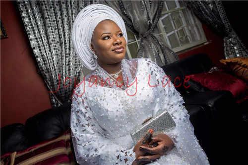 Afrikaanse kant stof 5yds/pce door dhl laser cut met stenen voor vrouwen party jurken 2017 nieuwe collectie hoge kwaliteit nigeriaanse stoffen