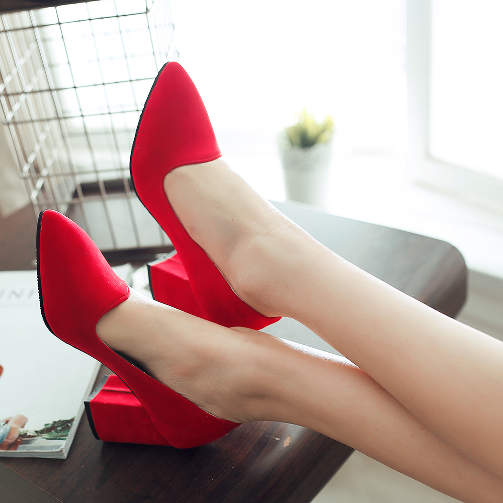 Red Shoes Heels Cheap