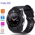 Brand V8 Smart Watch support Sim TF Card Slot Bluetooth Clock 0.3M Camera MTK6261D Smart Watch for IOS Android pk tw64,Kw88