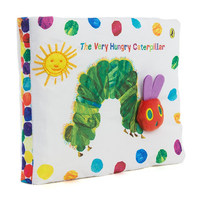 Candice Guo Super Cute Baby Toy Cloth Book The Very Hungry Caterpillar Early Learning Baby Story