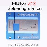 MIJING Z13 BGA REBALLING FIXTURE FOR IPHONE X/XS/XSMAX PCB Holder JIG board Maintenance Platform