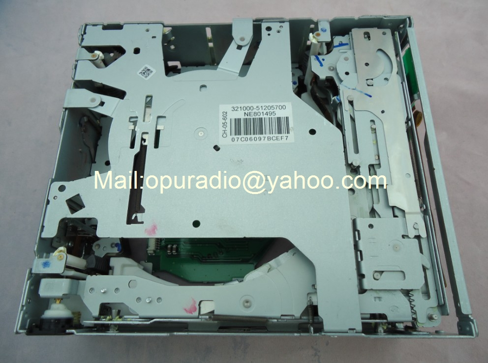 Brand new Fujitsu ten 6 disc CD mechanIsm CH 05 602 for chev rolet captiva Toyota