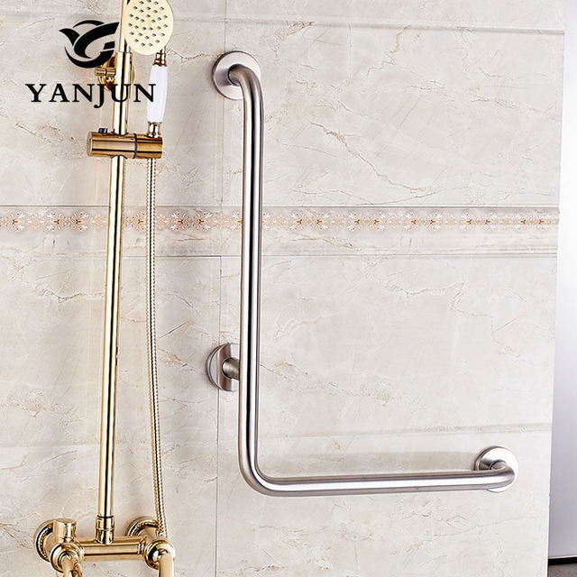 Attrayant Yanjun90 Degree Grab Bar Bathroom Safety Rail Anti Slip Grip With Concealed  Mounting YJ
