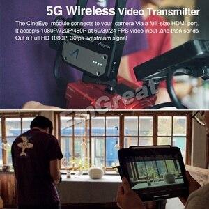 Image 2 - Accsoon CineEye 5G אלחוטי וידאו משדר מערכת כיס שידור HDMI 1080P HD שידור עד 100m עבור IOS אנדרואיד DSLRS