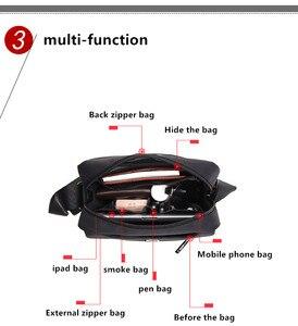 Image 3 - SWICKYผู้ชายแฟชั่นมัลติฟังก์ชั่ธุรกิจท่องเที่ยวกันน้ำ 10.1 นิ้วiPadข้ามแพคเกจกระเป๋าเดียว