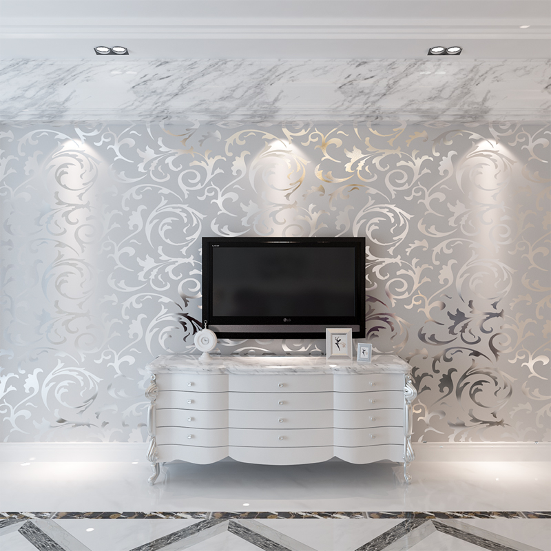 high quality silver grey wallpaper buy cheap silver grey