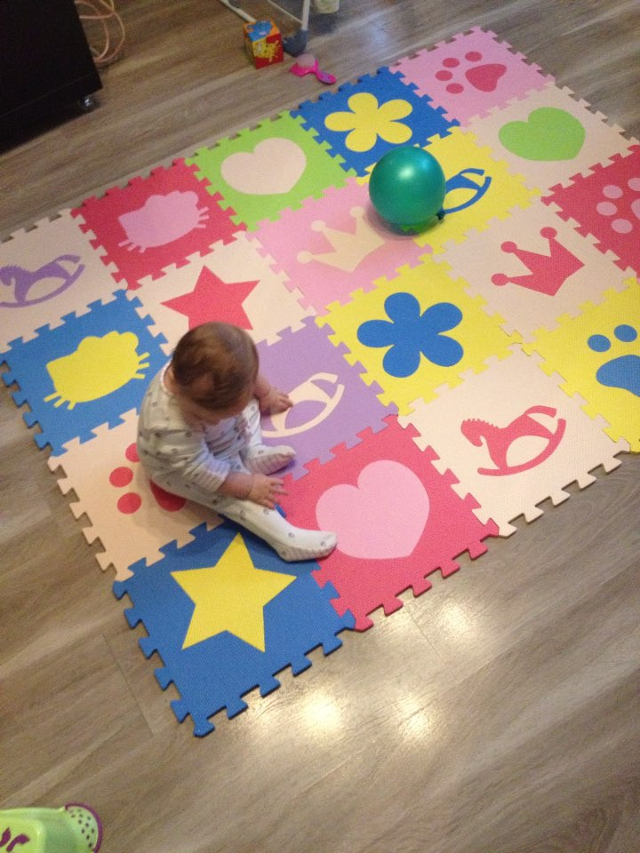 Children's soft developing crawling rugs,baby play Block number/letter/cartoon eva foam mat,pad floor for baby games 30*30*1cm