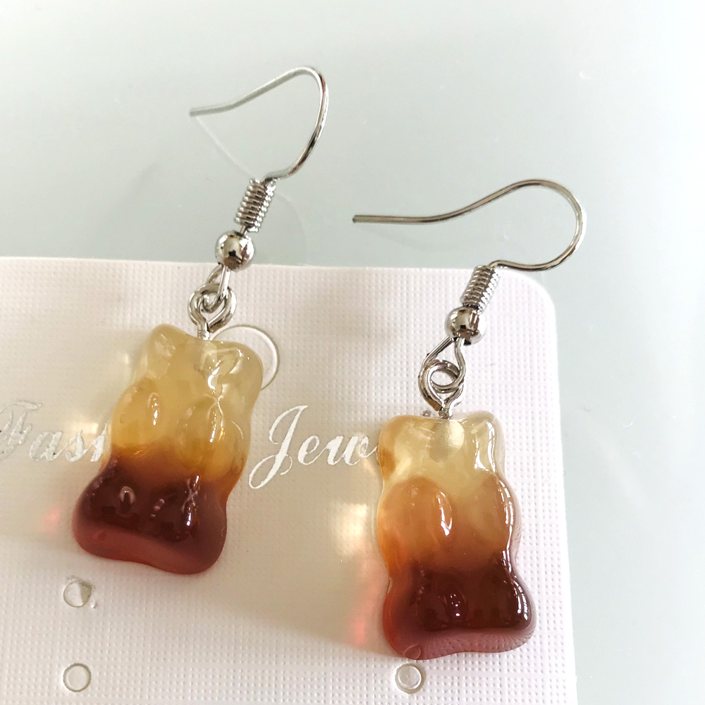 Bear Earrings 4