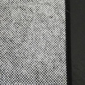 Image 5 - אירופאי הפשטה כהה אדום תפרים מחצלת בית חדר שינה ליד המיטה כניסה מעלית רצפת מחצלת ספת שולחן קפה אנטי להחליק שטיח