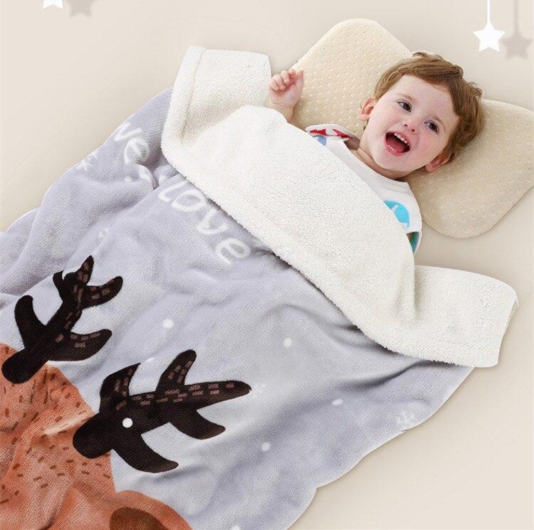 Baby Blankets Envelope for Newborns Baby Swaddling Baby Wrap Newborn Baby Bedding duvet many colors