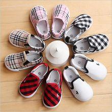 Moda Primavera Outono Sapatos Para Meninos Das Meninas das Crianças Sapatas Dos Miúdos Lona Sneakers Crianças Flats Calçado Chaussure Enfant
