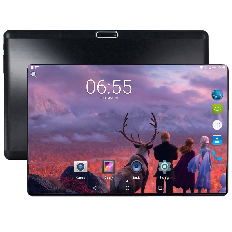 New Ultra Thin Tempered 2.5D Glass 10 inch tablet Android 8.0 Octa Core 4GB RAM 64GB ROM 1280*800 IPS Screen Tablets 10.1 + GiftNew Ultra Thin Tempered 2.5D Glass 10 inch tablet Android 8.0 Octa Core 4GB RAM 64GB ROM 1280*800 IPS Screen Tablets 10.1 + Gift