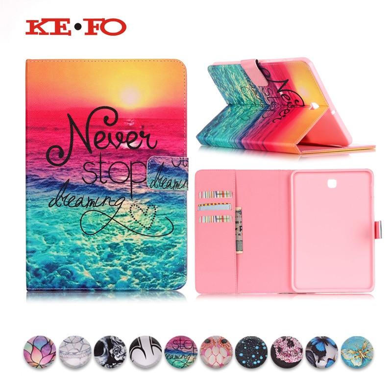KeFo For Samsung galaxy tab s2 8.0 t710 t715 T719 SM-T715 PU Leather Case Cover For fundas Samsung Galaxy Tab S2 8.0 tablet