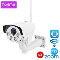 Full HD 1080P Bullet IP Camera PTZ Outdoor Wifi 4X Pan Tilt Zoom Auto Focus 2