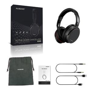 Image 5 - Ausdom ANC7S Aktive Noise Cancelling Wireless Kopfhörer Bluetooth Headset mit Mic Reinen Klang für TV Sport U bahn Flugzeug