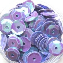 400 шт 6 мм DIY ручной работы с отверстиями Аксессуары для одежды блестящие шитье многоцветные блестки украшение ремесленный круглый