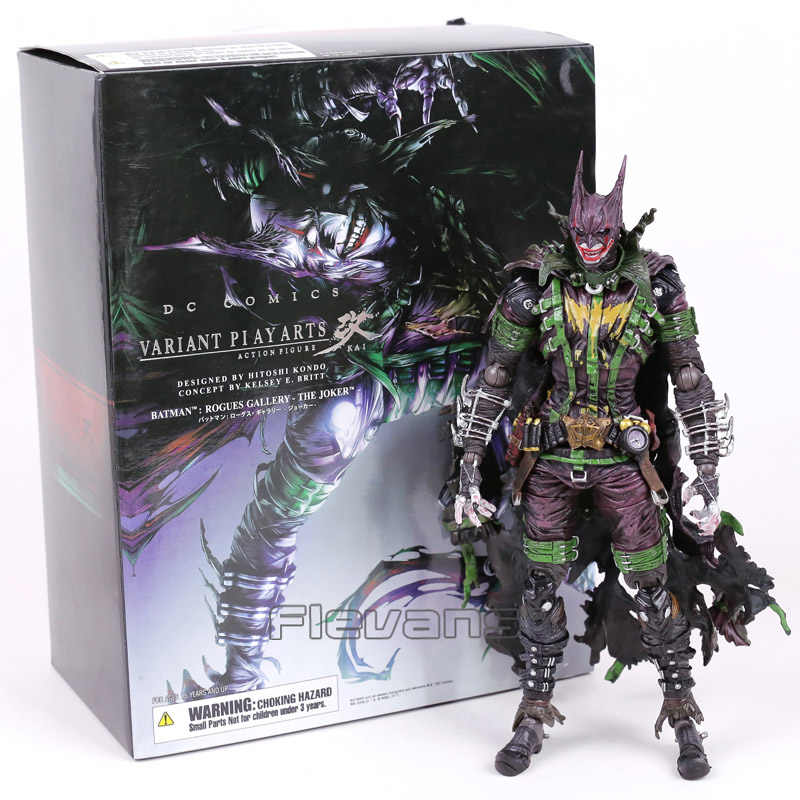 DC COMICS VARIANT JOGAR ARTS KAI BATMAN Rogues Gallery O Coringa PVC Action Figure Collectible Modelo Toy 26 cm